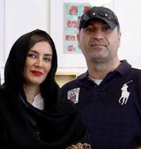 حمید فرخ نژاد و همسرش