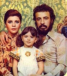 لیلا حاتمی و پدر و مادرش