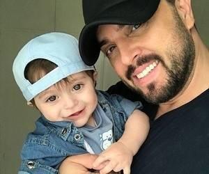 پدرام کریمی و پسرش