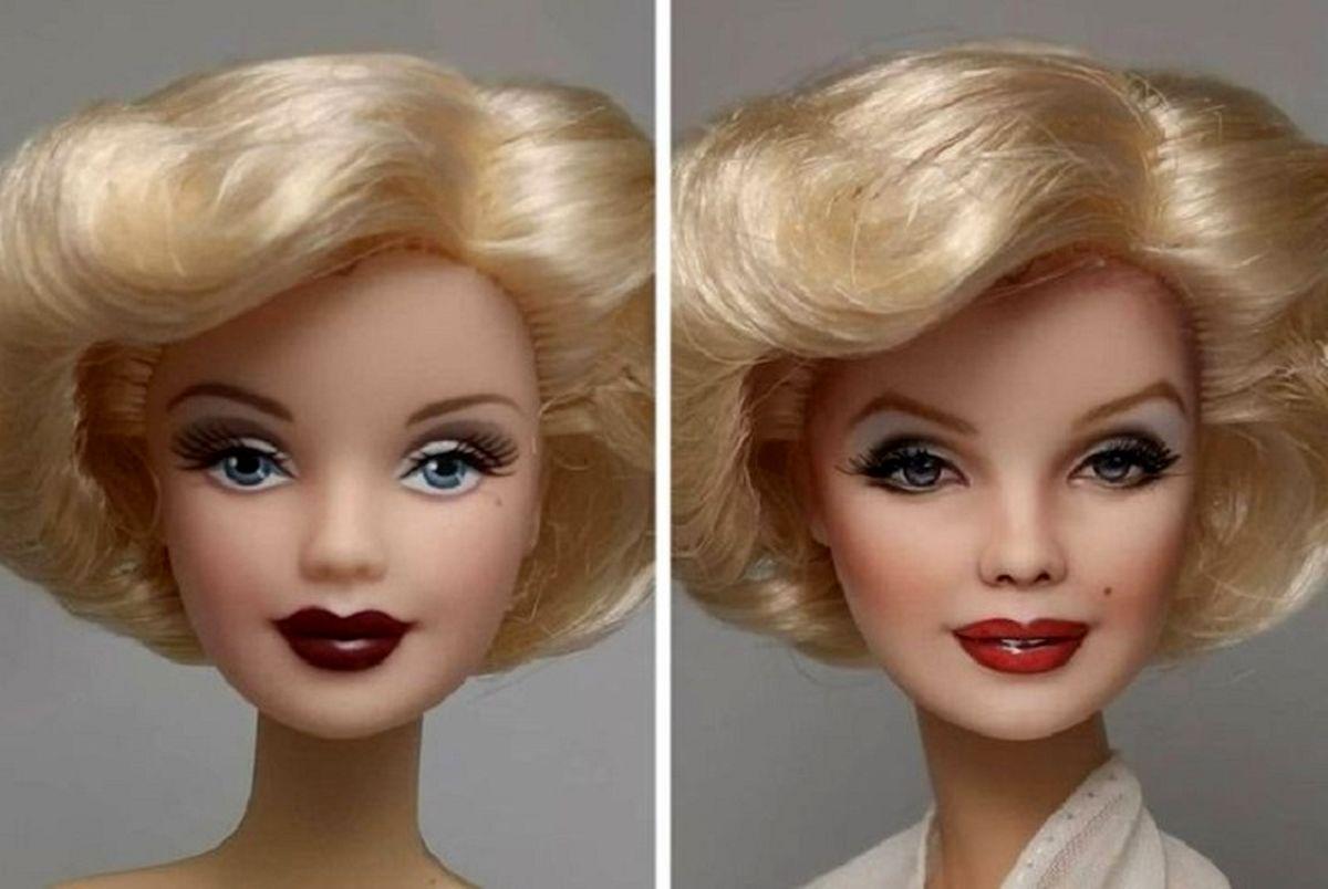 ساخت عروسک هایی مشابه چهره سلبریتی ها