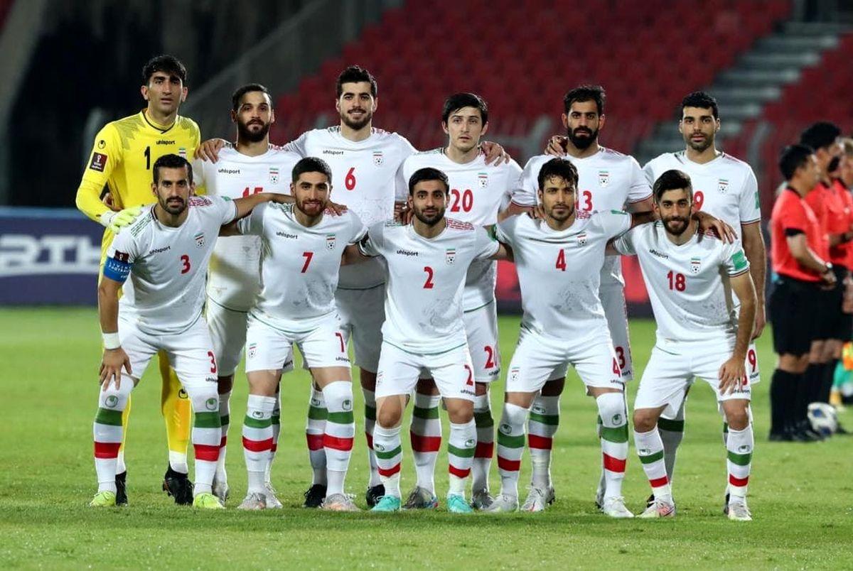 ترکیب احتمالی تیم ملی ایران