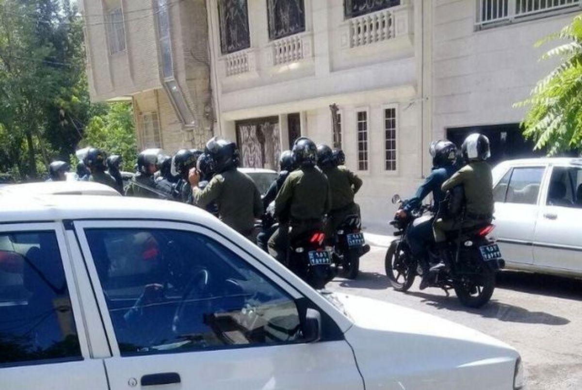 ورود پلیس به تجمع پرسپولیسی ها