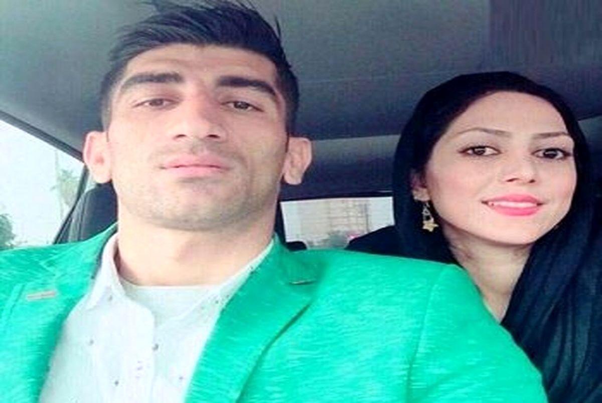 (عکس) علیرضا بیرانوند و همسرش در زمین فوتبال بلژیک