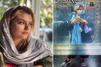"""نگاه جذب کننده """"دنیا مدنی"""" به اونور؛ خانم بازیگر باز عاشق شده؟ +عکس"""