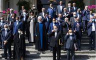آخرین هیات دولت روحانی+تصاویر