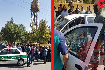 بازداشت زن هفت تیرکش کرمانشاهی+عکس
