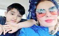 (عکس) عینک عجیب و فضایی خانم بازیگر!