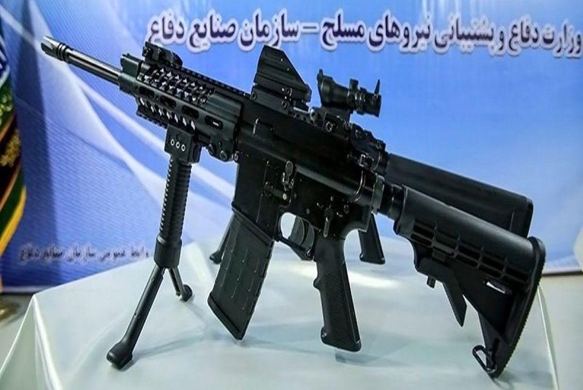 سلاح جدید تهاجمی پیشرفته ایرانی رونمایی شد +عکس