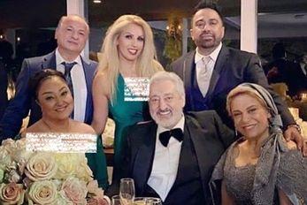 (عکس) گوهر خیراندیش در کنار سهیلا و طلا گلزار در تولد اِبی!