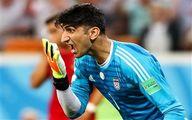 انتقاد تند بیرانوند: تیم ملی تنهاست
