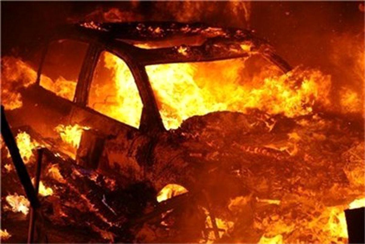 آتش زدن زانتیا در محاصره تکاوران پلیس توسط 3 قاچاقچی