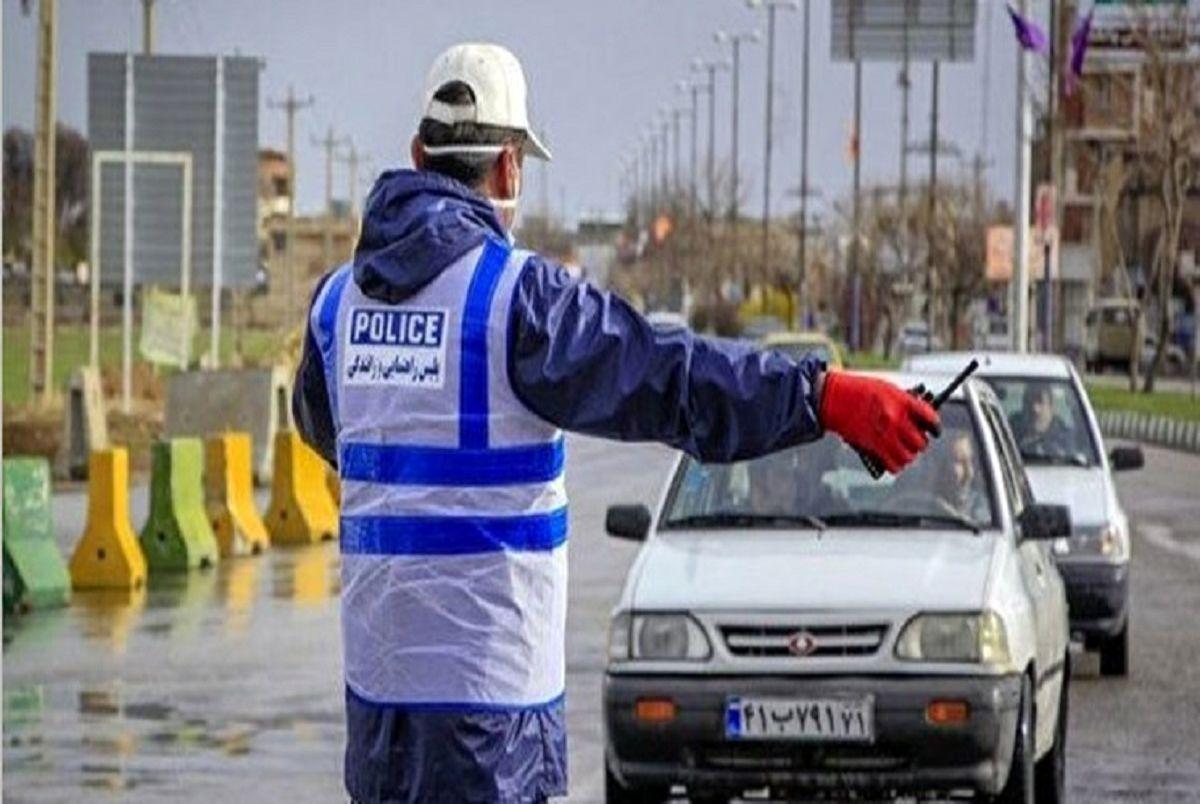 محدودیت تردد خودرویی در مبادی ورودی و خروجی قزوین