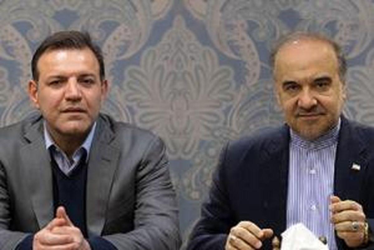 رئیس جدید فدراسیون فوتبال با وزیر ورزش و جوانان دیدار کرد
