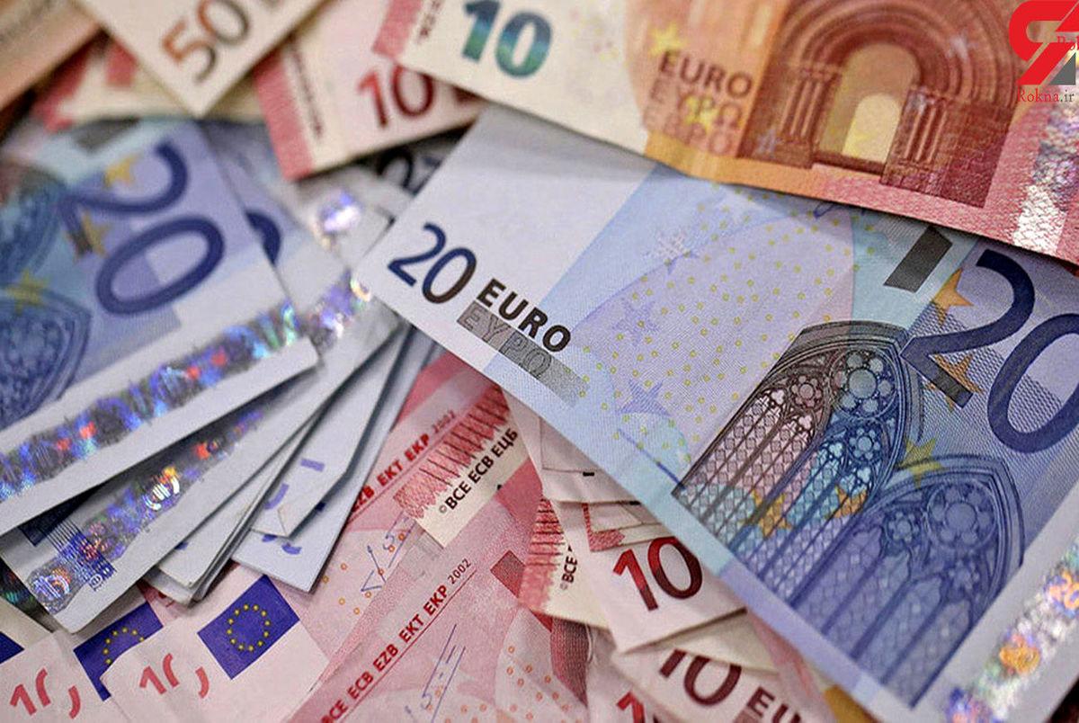 قیمت دلار و یورو در صرافی ملی امروز یکشنبه 15 فروردین 1400