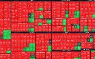بازار بورس قرمز ماند!