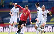 توقف یونایتد در خانه لیدزیونایتد در هفته سی و سوم