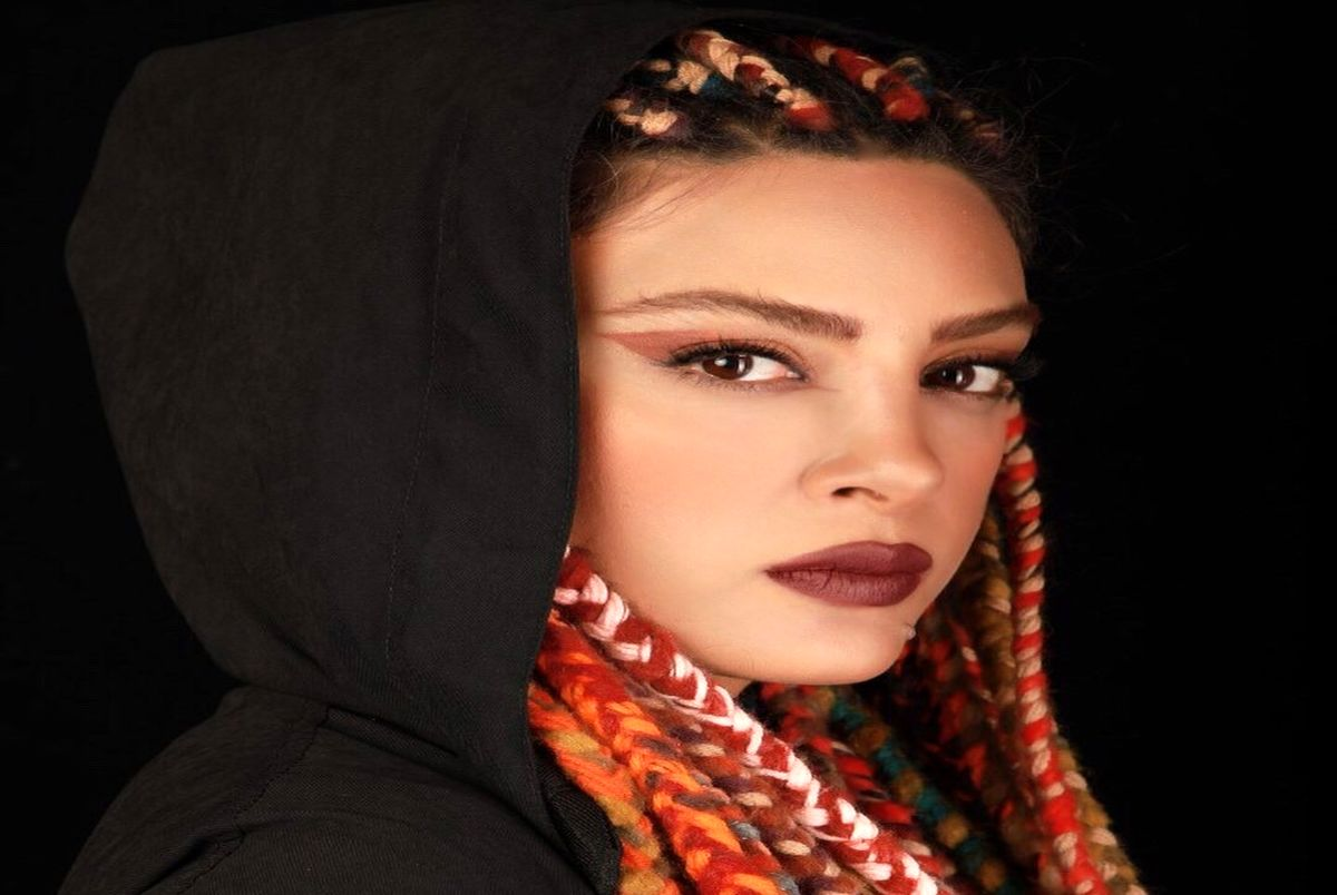 عکس حدیثه تهرانی با ظاهر و آرایش عجیبش در اینستاگرام!