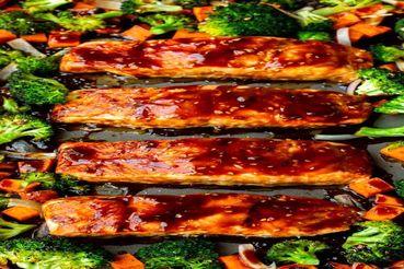طرز پخت ماهی سالمون خوشمزه و خاص