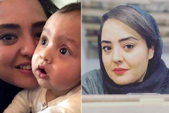"""ویدیو شوکه کننده """"نرگس محمدی"""" در اینستاگرام؛ داغ کودک 3 ساله!"""