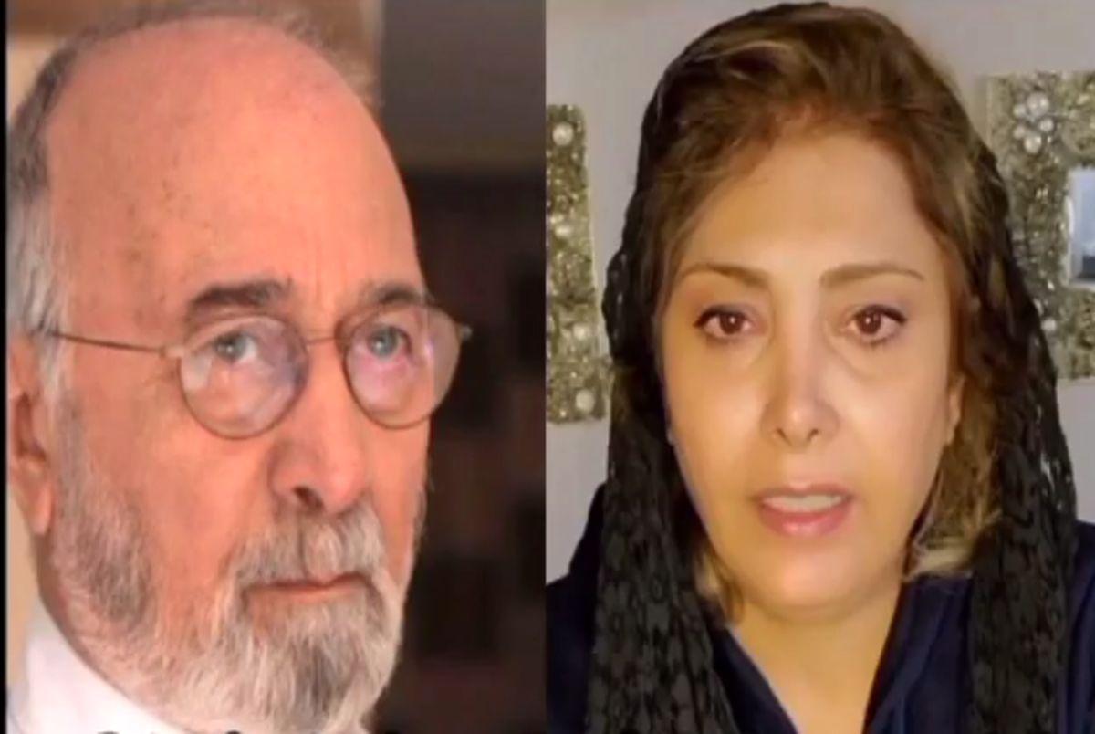 (ویدیو) درگذشت پرویز پورحسینی و اشک های لادن طباطبایی