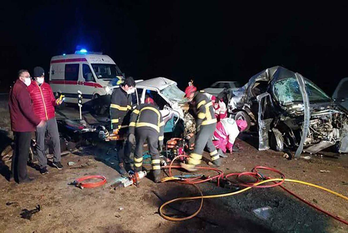 تصادف مرگبار دو هنرمند ارومیه ای در جاده سلماس