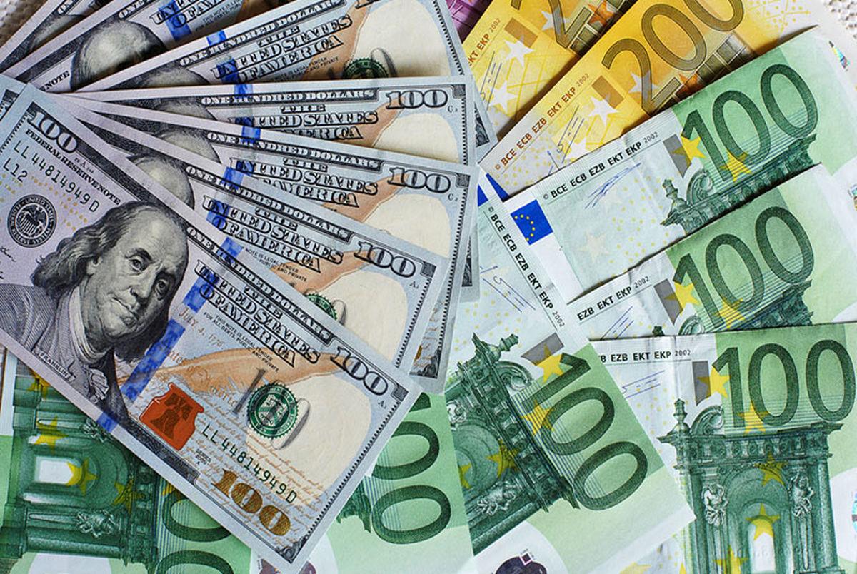قیمت انواع دلار، یورو، پوند امروز چهارشنبه 18 فرورین 1400