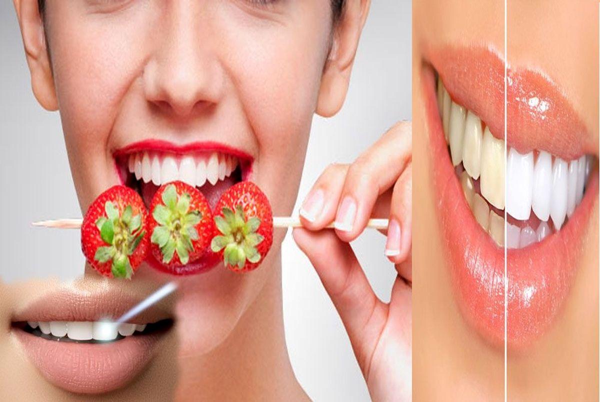 ۶ ترفند ساده برای سفید کردن دندانها