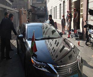 (عکس) چرا ماشین سفیر بلاروس فروغی سرباز راهور را زیر گرفت؟