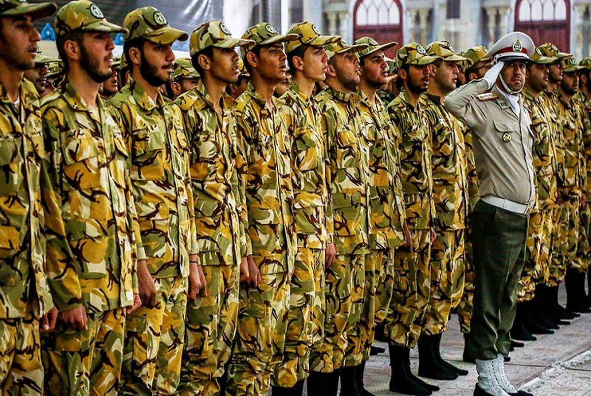 افزایش چشمگیر حقوق سربازان/تغییر مدت دوره آموزشی در سال ۱۴۰۰