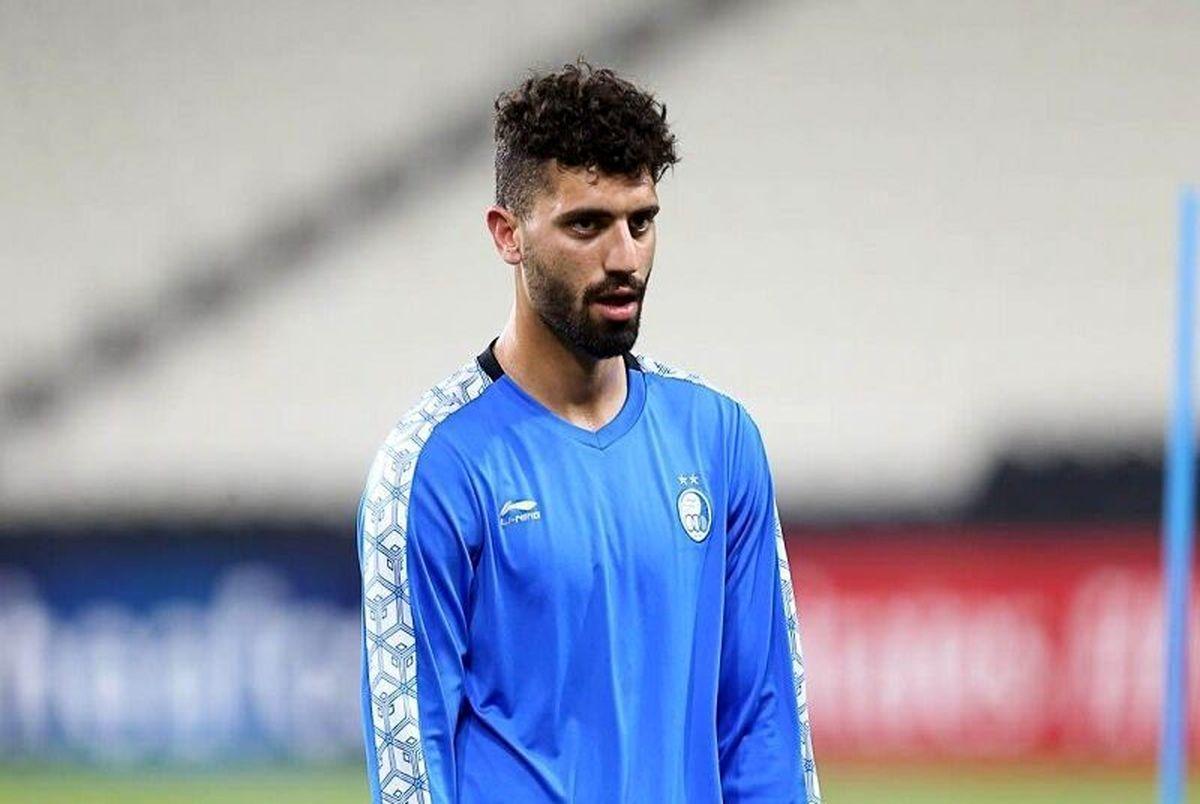 تصمیم نهایی باشگاه استقلال در خصوص محمد دانشگر