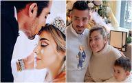 (عکس) آرزوی قشنگ ساره بیات برای رضا قوچان نژاد و همسرش