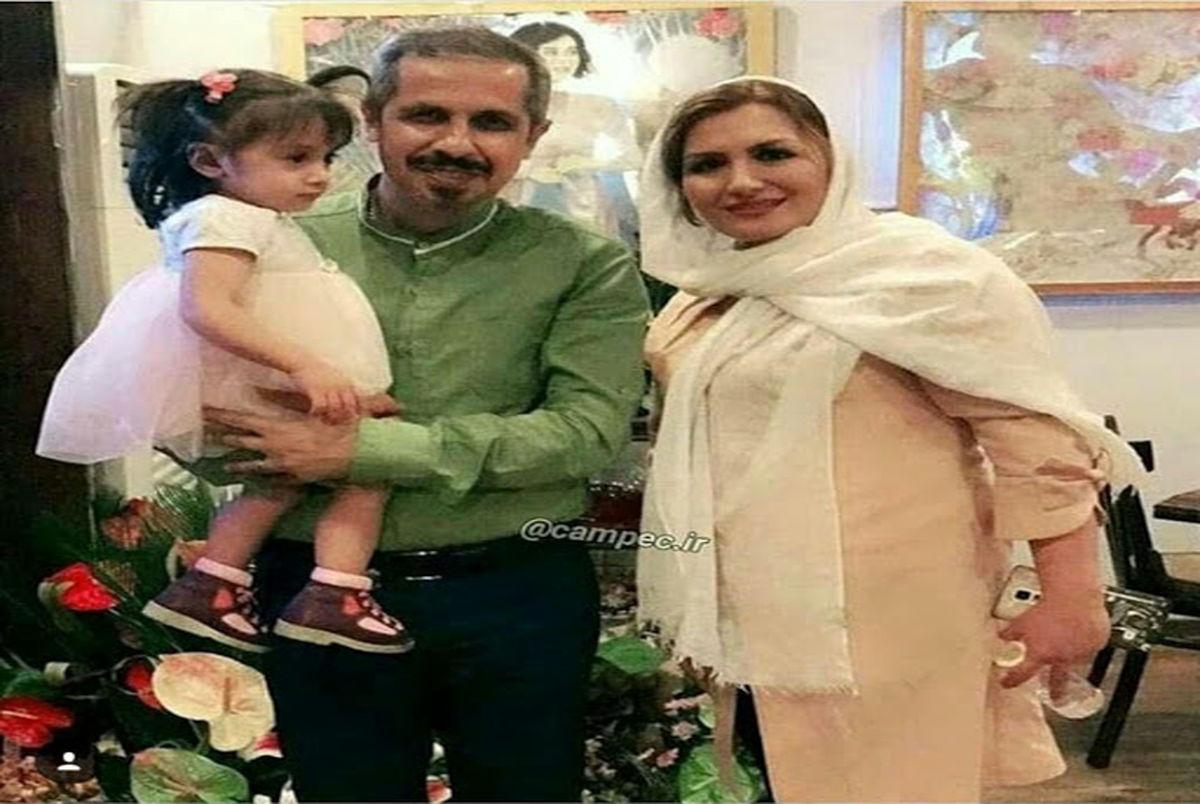 جواد رضویان از همسرش جدا شد! + عکس