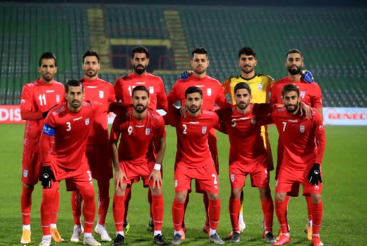 ایران تیم ۲۹ جهان و دوم آسیا