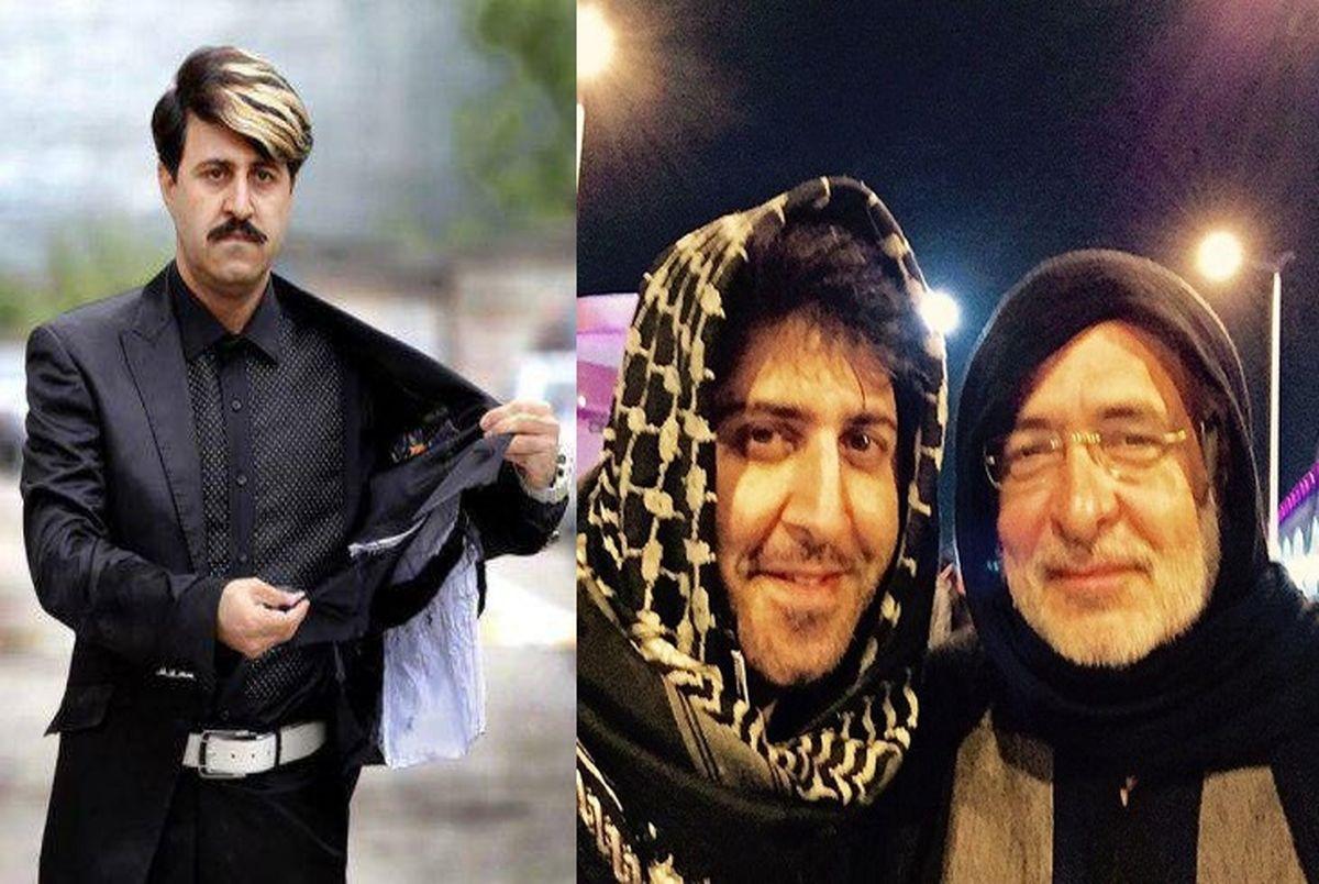 پدر هومن حاج عبداللهی