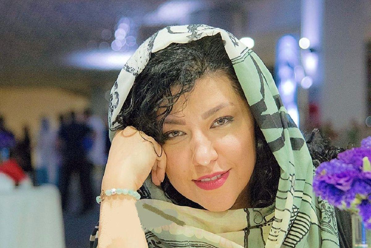 شلوار بدن نما و کوتاه همسر شهاب حسینی + عکس